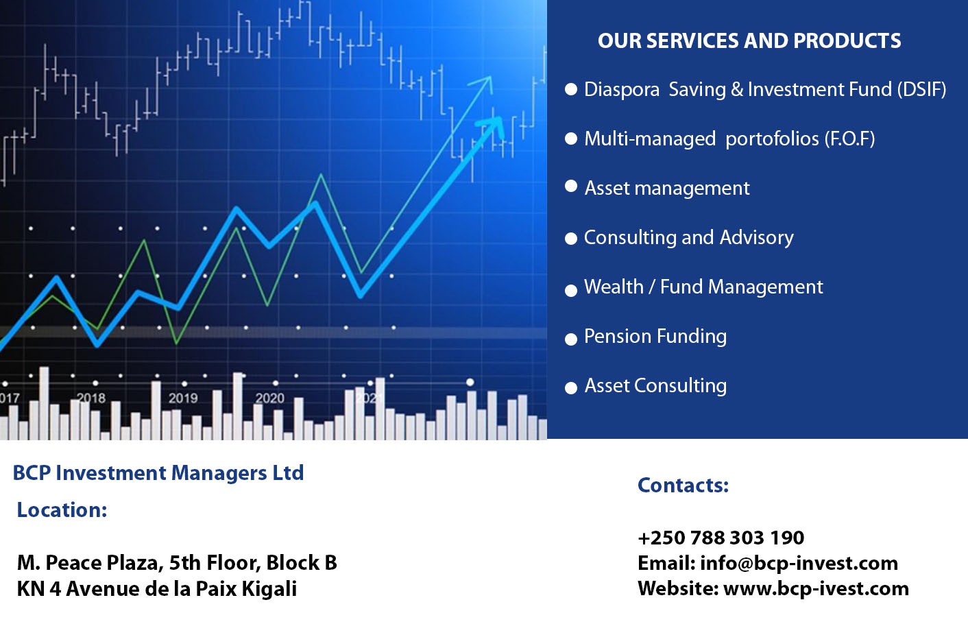 BCP Investment managers Ltd
